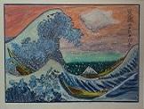 Die grosse Welle  vor Kanagawa