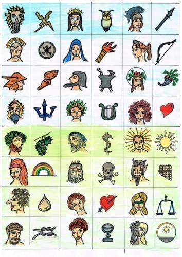 Götter für Faqir, Bilder- und Zahlenrätsel