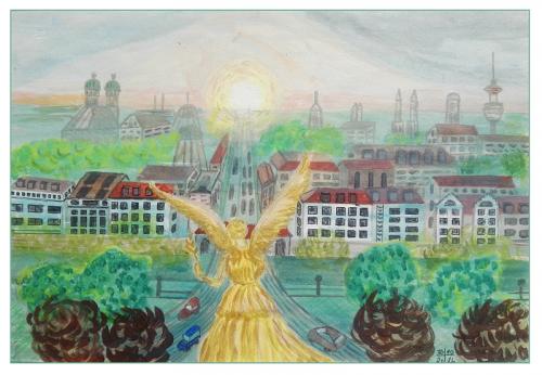 München; Friedensengel